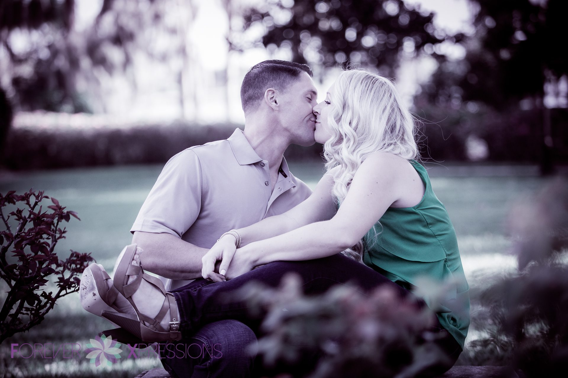 Engagement Session at Cypress Grove Estate