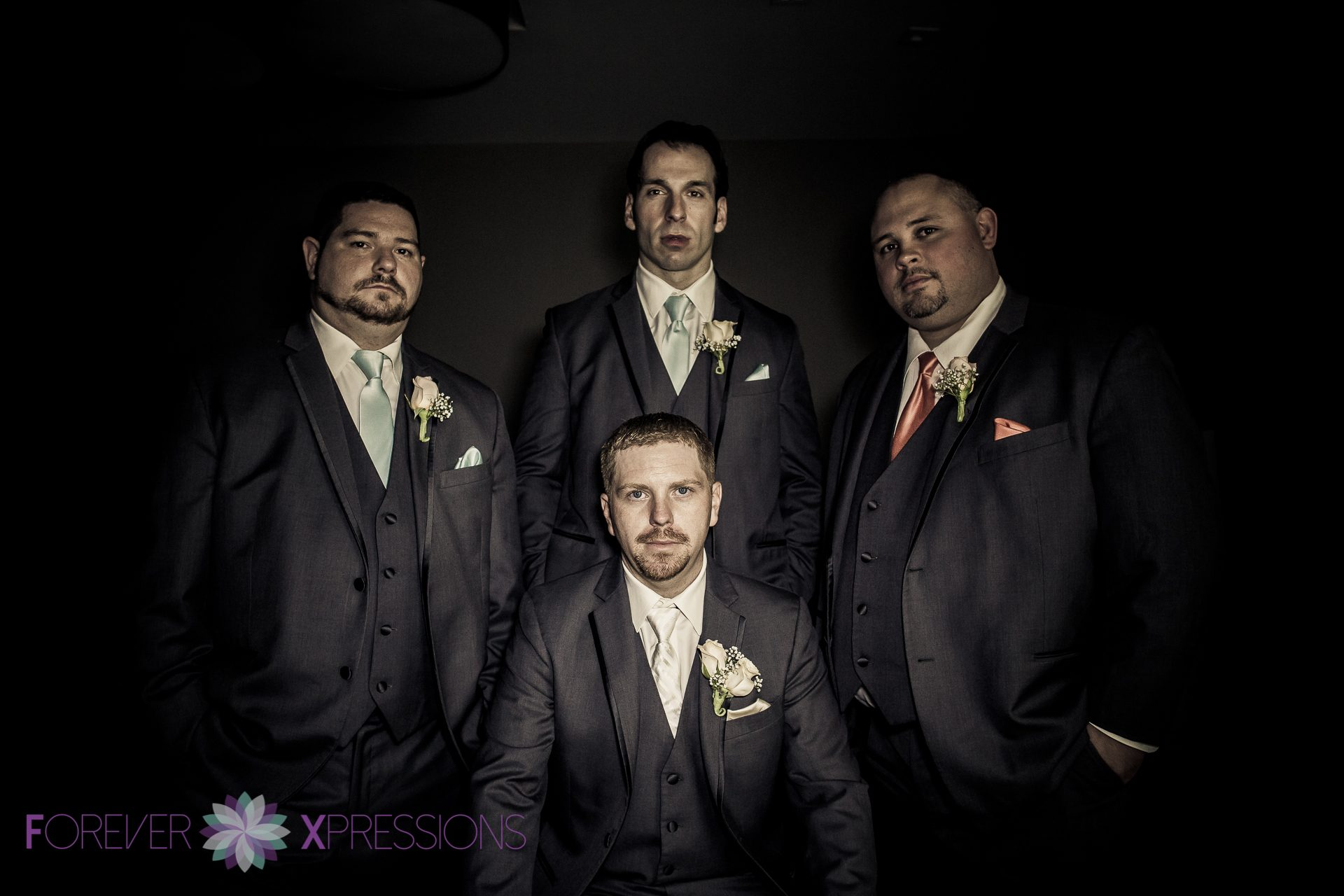 Groomsmen Dark Photo